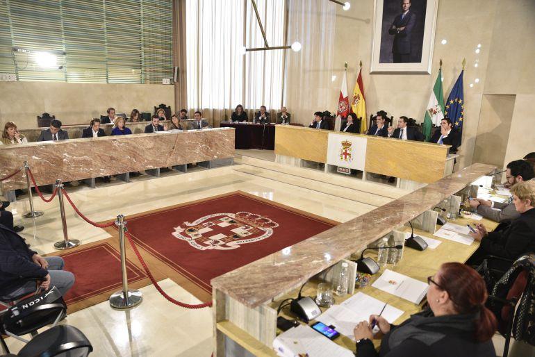Pleno del Ayuntamiento de Almería.