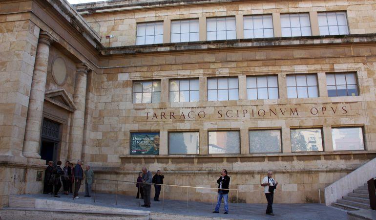 Façana del MNAT, situat a la plaça del Rei de Tarragona.