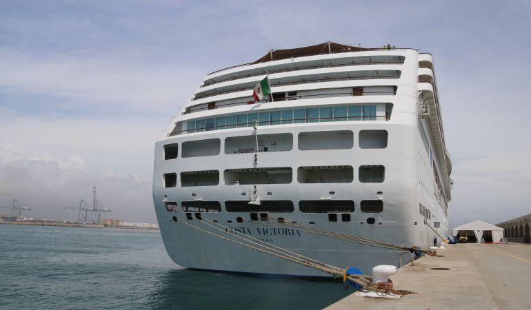 Creuer de Costa Cruceros al Port de Tarragona.