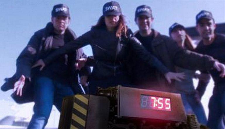 Una escena del joc de rol on van amagar la falsa bomba