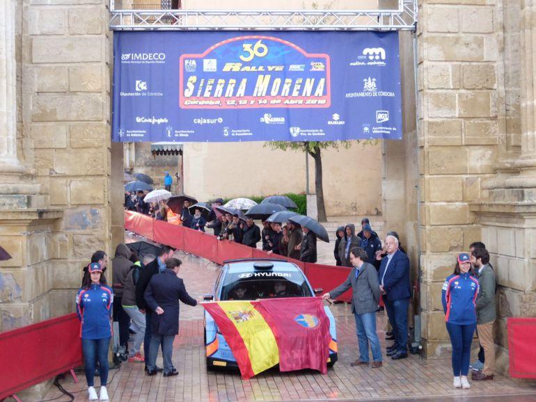 Miguel Fuster se adjudica el Rally Sierra Morena