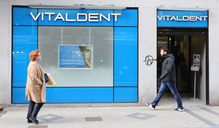 Clinica Vitaldent en la calle Labradores en Valladolid