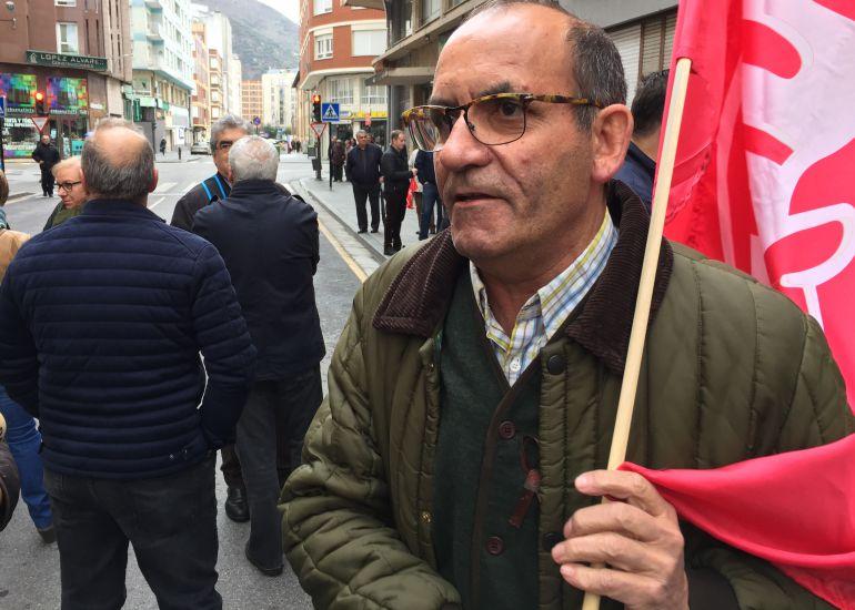 Antonio Cordero, de UGT