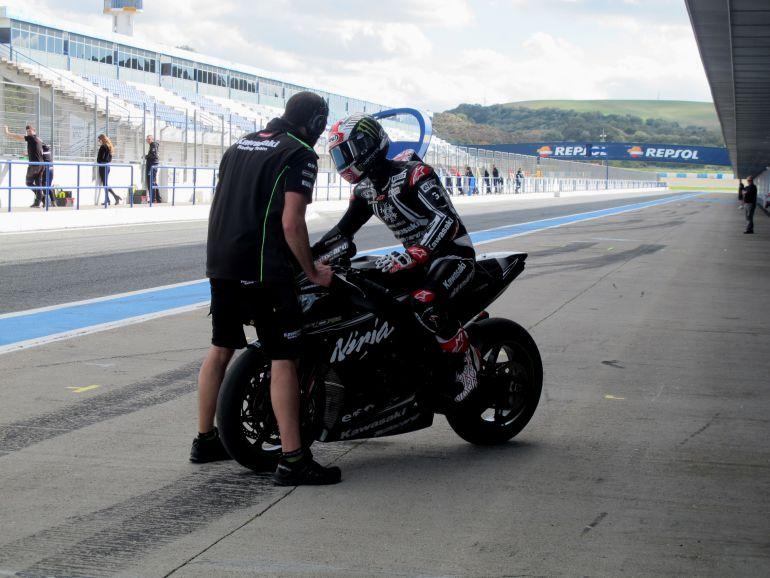 Piloto de Superbikes la pasada temporada en el Circuito de Jerez