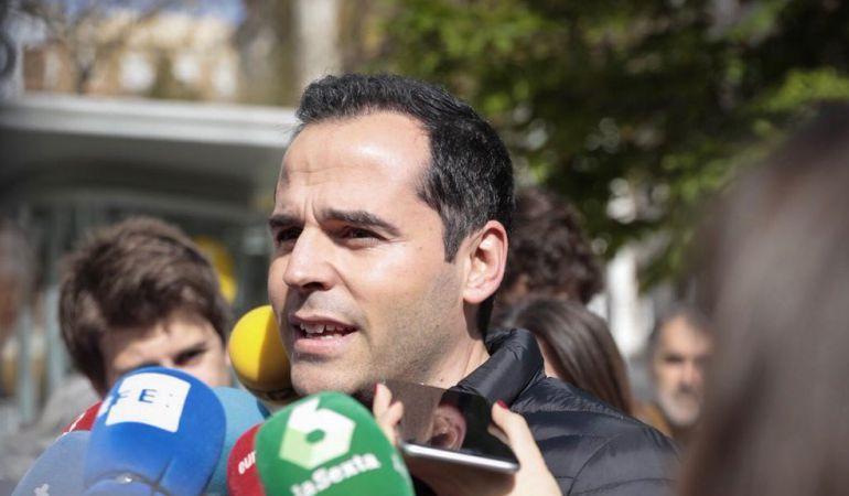 El portavoz de Ciudadanos en Madrid, Ignacio Aguado.