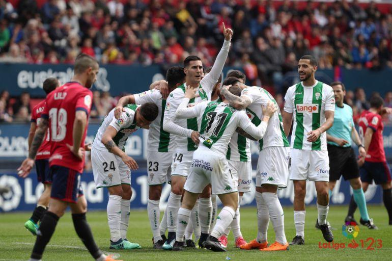 Celebración del Córdoba