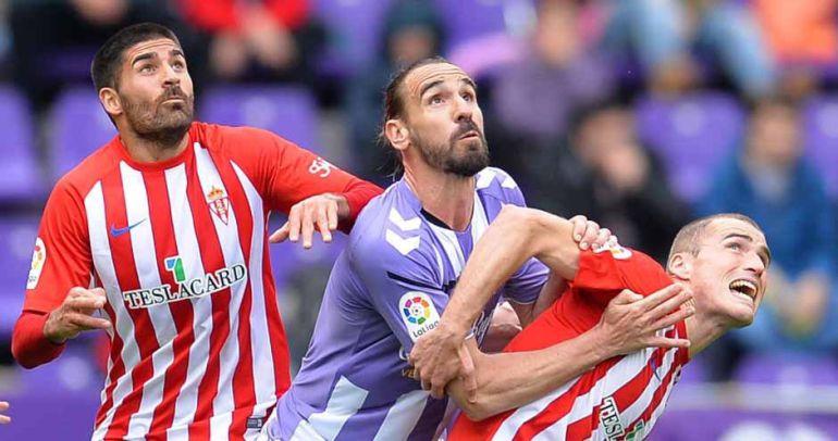 El Sporting, más líder en Zorrilla