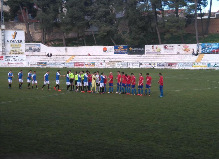 Un buen CP Villarrobledo acabó pidiendo la hora ante la UD Almansa (2-1)