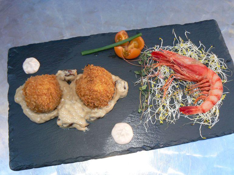 La tapa del restaurante Bocafí, ganadora de la XII Ruta de la Tapa de Dénia.