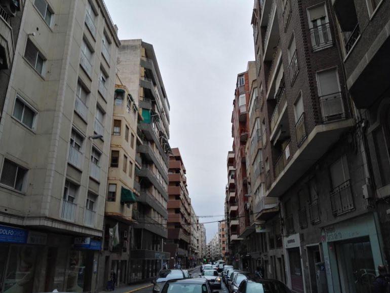 Edificios en una calle de Elche