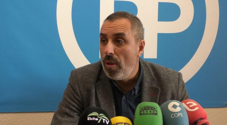 Vicente Granero, portavoz adjunto  Grupo Municipal PP