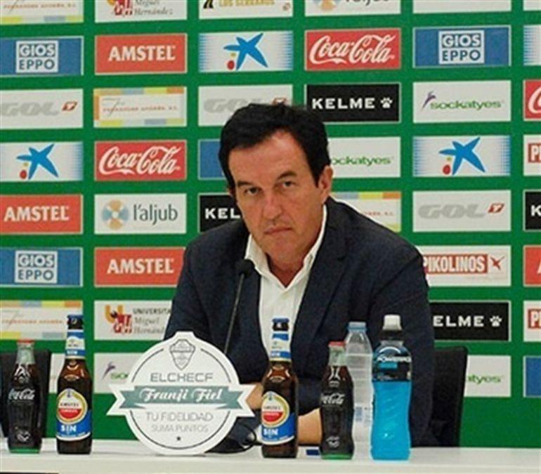 Juan Anguix en su etapa como presidente del Elche C.F.
