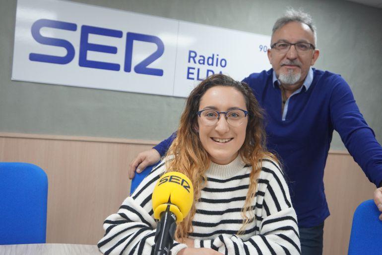 Silvia y Pedro Pomares en Radio Elda Cadena SER
