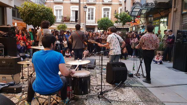 Indianápolis en concierto en La Noche en Blanco en Granada