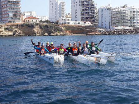 Regatas: El Nàutic consigue 21 medallas en la Copa de España de Kayak
