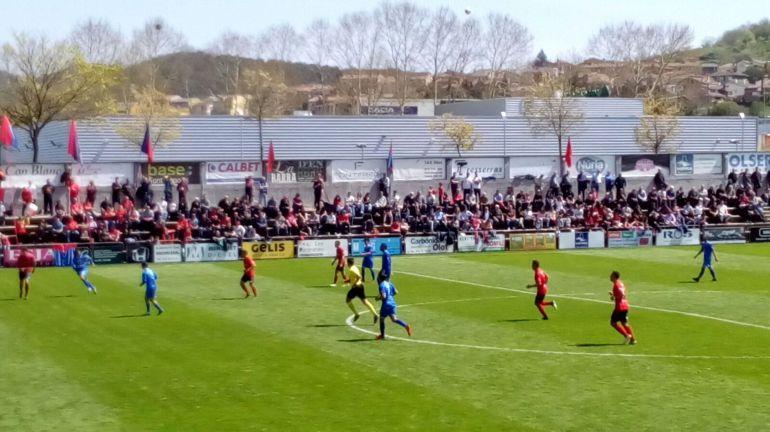 Partidos: 0-0. El Formentera resiste en Olot
