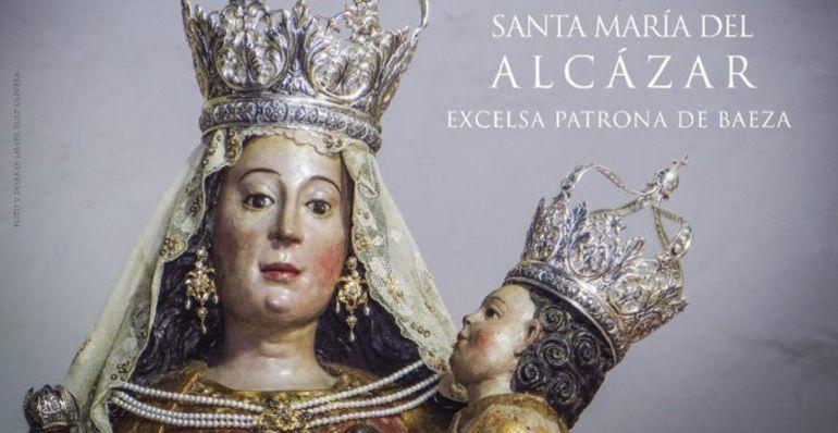 Detalle del cartel de Mayo en Baeza