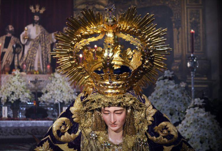 Imagen de la Virgen de la Paz