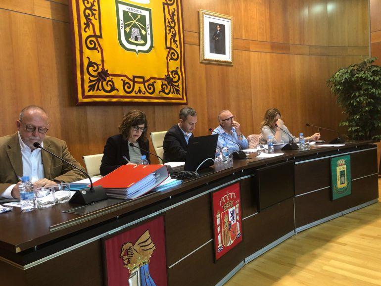 Pleno del ayuntamiento de Calp.