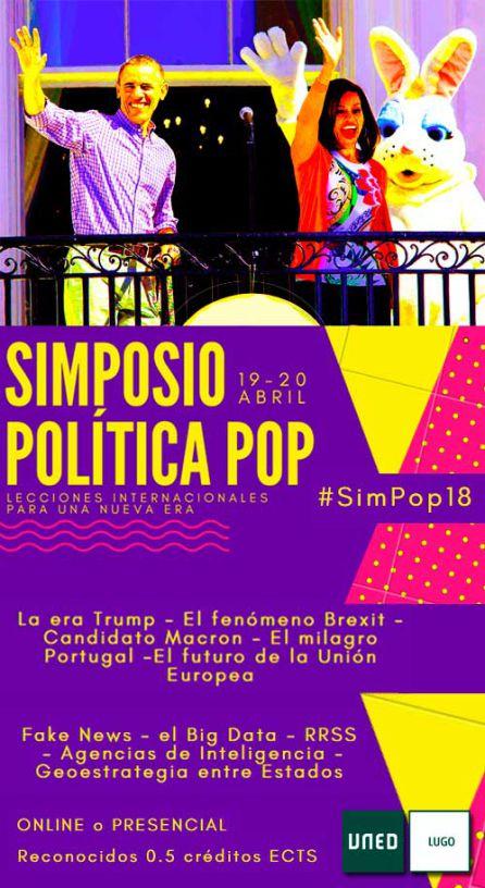Cartel del Simposio que se celebra en Lugo