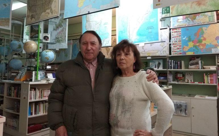 Eduardo y Teresa, al mando en 'La tienda verde'.