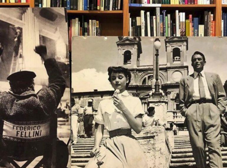 La librería y cafetería '8 y Medio' en Madrid