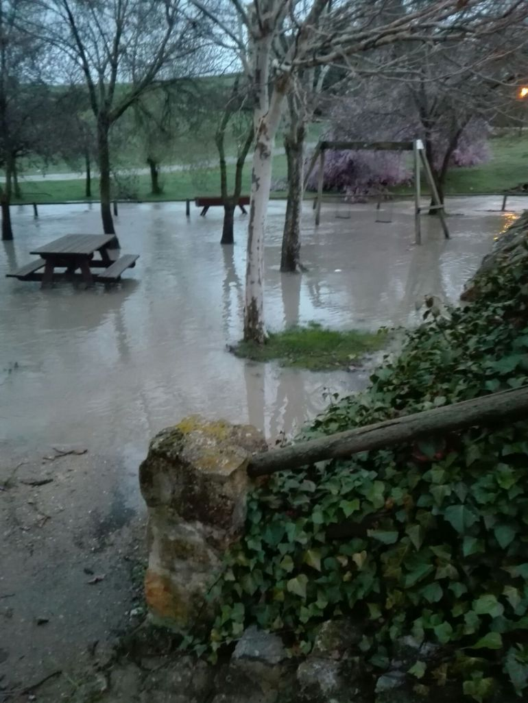 Localidad de Los Huertos - Segovia.