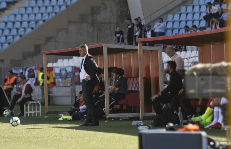Lucas Alcaraz cumple su partido 20 en el Almería