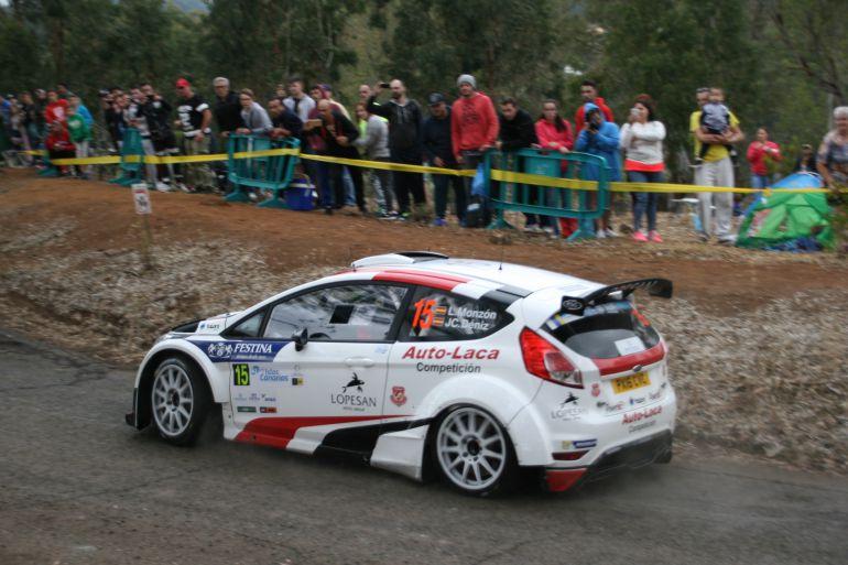 Monzón repite su apuesta por un R5 para competir en el Rally Islas Canarias