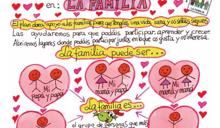 El cómic está editado en varios idiomas e incluye pictogramas y lenguaje sencillo para su mejor comprensión.