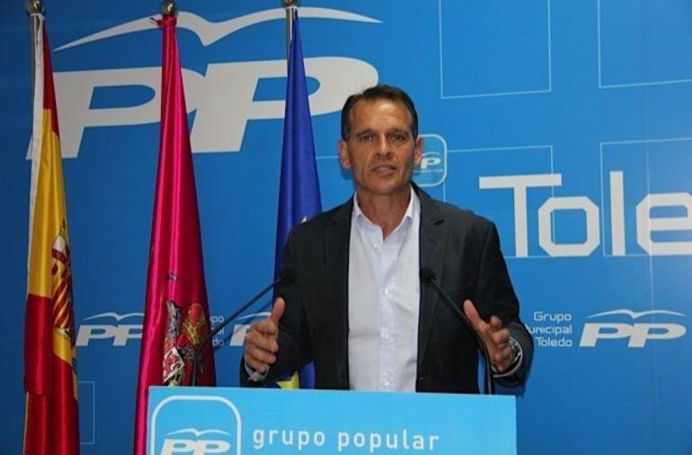 El concejal del PP de Toledo, José López Gamarra