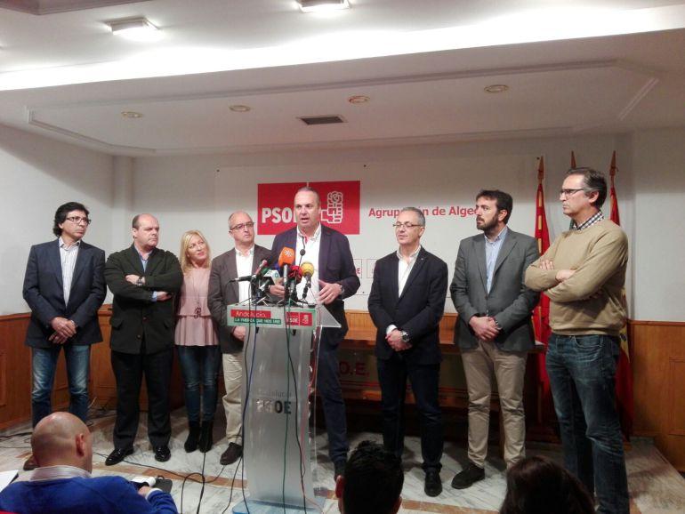 El PSOE, unido para volver a ser la fuerza más potente del Campo de Gibraltar.