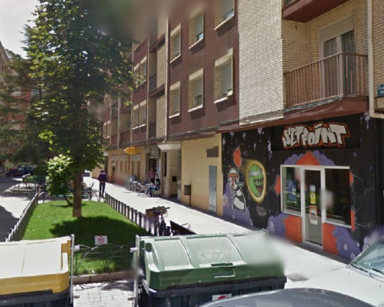 La sede de la Asociaciópn de Vecinos de Santa Catalina está en la calle Zazuar