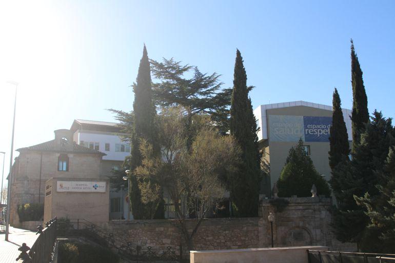 Vista del Hospital de los Santos Reyes de Aranda