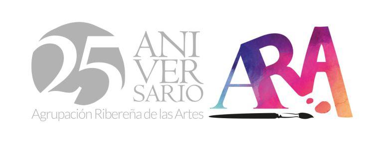 Cartel del 25 aniversario de la Agrupación Ribereña de las Artes