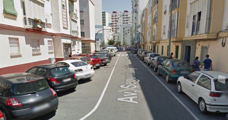 Avenida Segunda Aguada de Cádiz