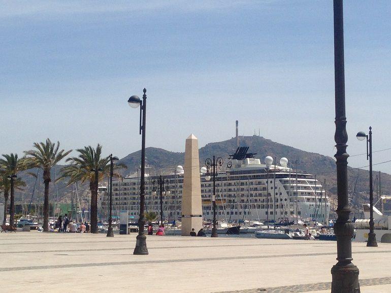 El barco de los millonarios 'The World' recalará este miércoles en Cartagena