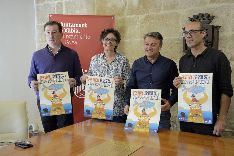 Presentación del festival 'Peix i Davantal' y el V Concurso de Cruet de Peix Vila de Xàbia.