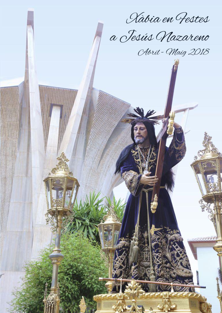 Portada del cartel de Fiestas a Jesús Nazareno.