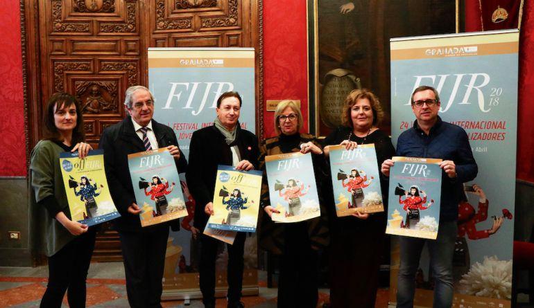 Presentación del Festival de Jóvenes Realizadores en el Ayuntamientod e Granada