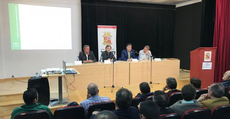 Momento de la presentación de la PGI de la Sierra Morena