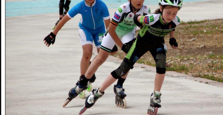 Prueba del Trofeo de Velocidad Ciudad de Jaén de patinaje.