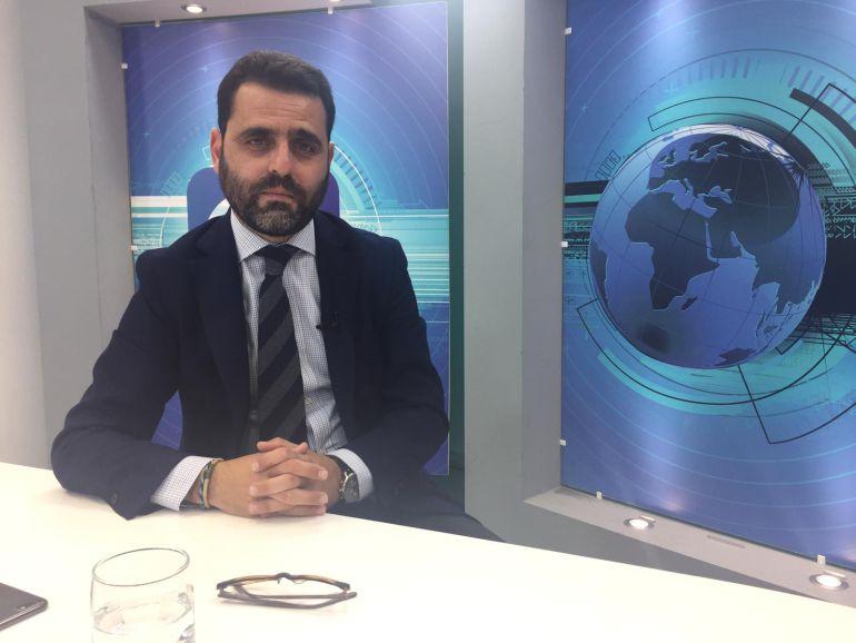 Jorge Fernández, secretario general de la Federación de Agrupaciones de Empresarios de la Construcción de la provincia de Cádiz