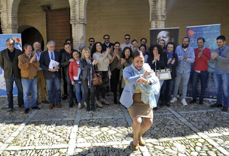Presentación de la Fiesta de la Bulería en el Alcázar de Jerez