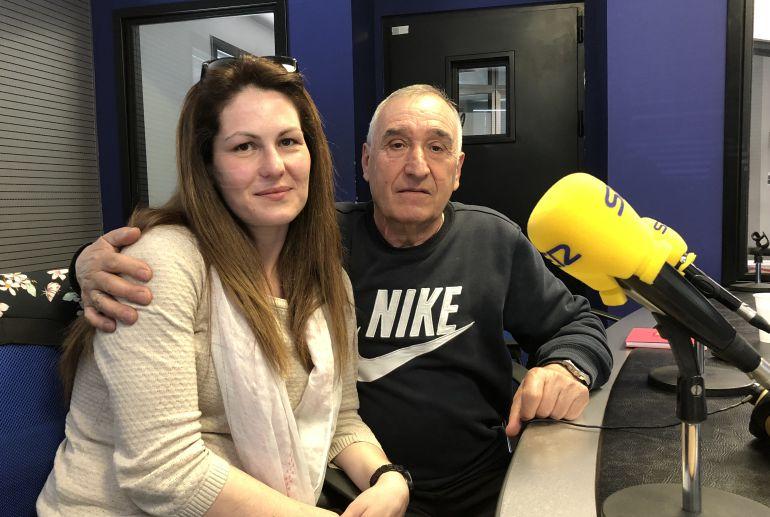 Laura Alonso y Manuel Moure durante su entrevista en Hoy por Hoy León