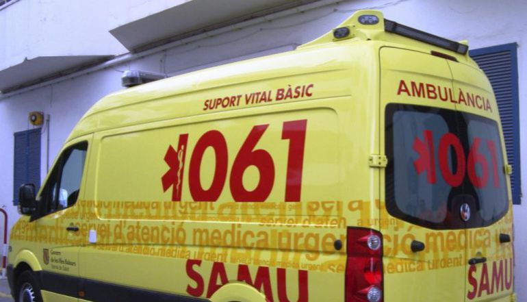 Cinco heridos en un accidente frontal en Capdepera