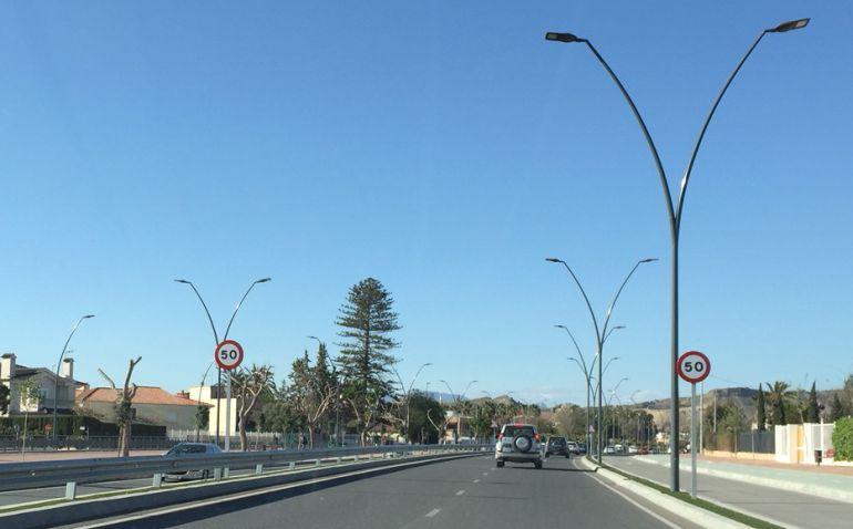 Los radares en Lorca cazan a conductores a 120km/h en tramos limitados a 50
