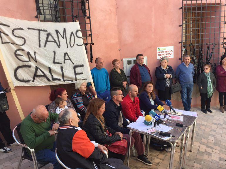 Los vecinos de San Pedro reclaman al Ayuntamiento de Lorca la sede de su asociación