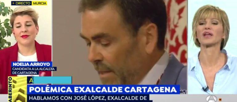 José López protagoniza un rifirrafe con Susana Griso a cuenta de Noelia Arroyo