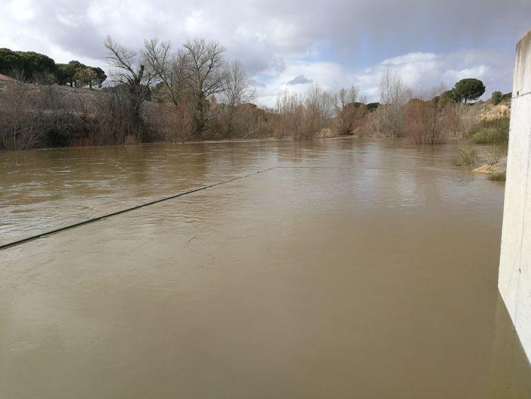 La estación del Duero en Quintanilla de Onésimo continúa en alerta